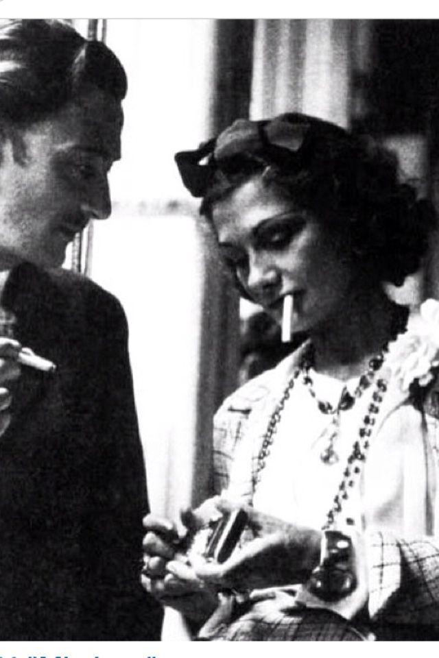 Salvador Dalì e Coco Chanel