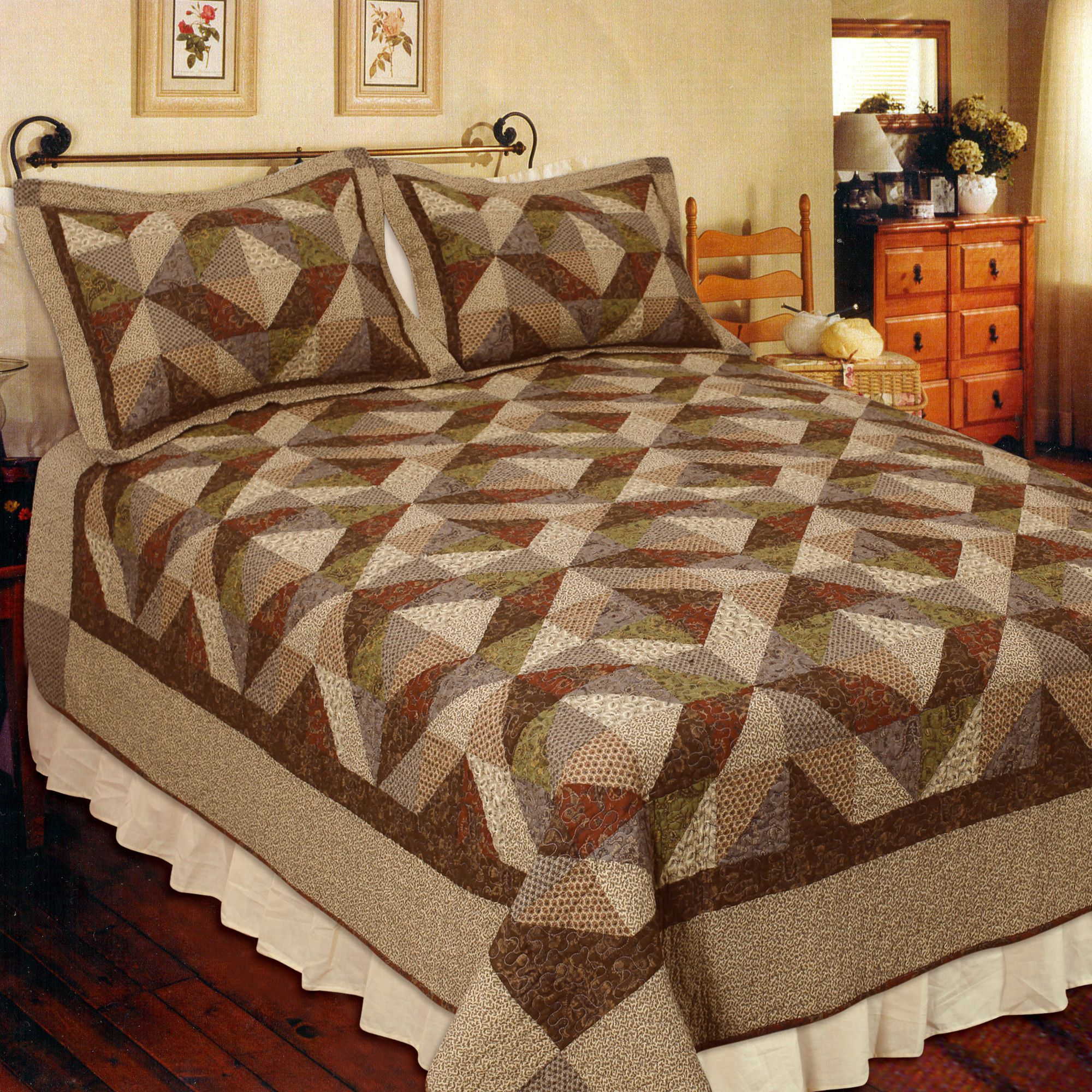 country cottage quilt collection wayfair desert house quilts rh pinterest com country cottage quilts des moines wa french country cottage quilts