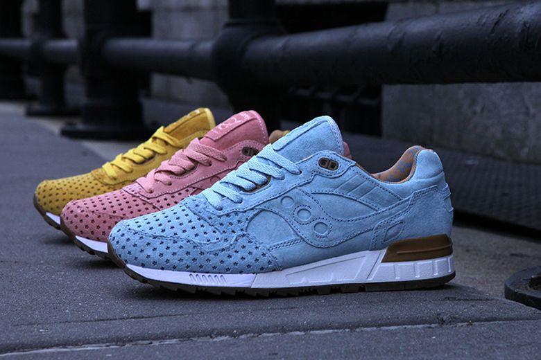 Saucony Chaussures De Sport Lambrissés - Bleu nyy7CG