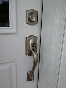 Custom Homes By Brom Builders Front Door Hardware Custom Homes Modern Door