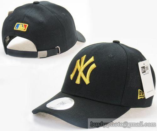 Cheap Wholesale MLB NY New York Yankees Baseball Caps Strapback Hats Black  Yellow for slae at US 8.90  snapbackhats  snapbacks  hiphop  popular   hiphocap ... daa021705a5