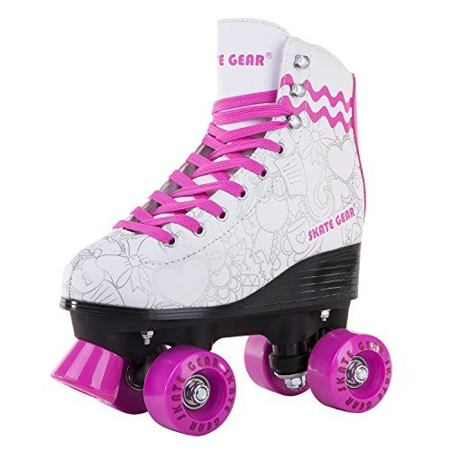 c2adf8a6aed Cal 7 All-Purpose Indoor Outdoor Speedy Roller Skate for Youth and Adults  (Graphic
