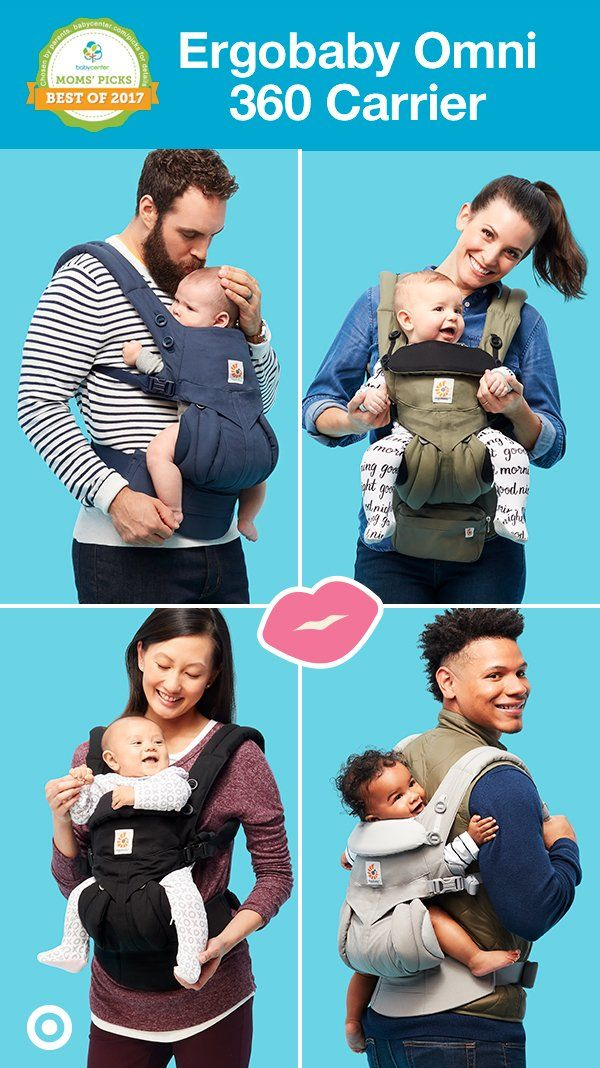 79f356daaa2 The ErgoBaby Omni 360 baby carrier is an all-in-one
