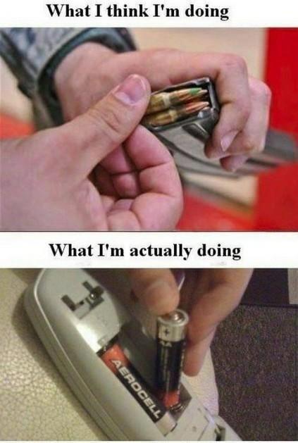What I think I'm doing