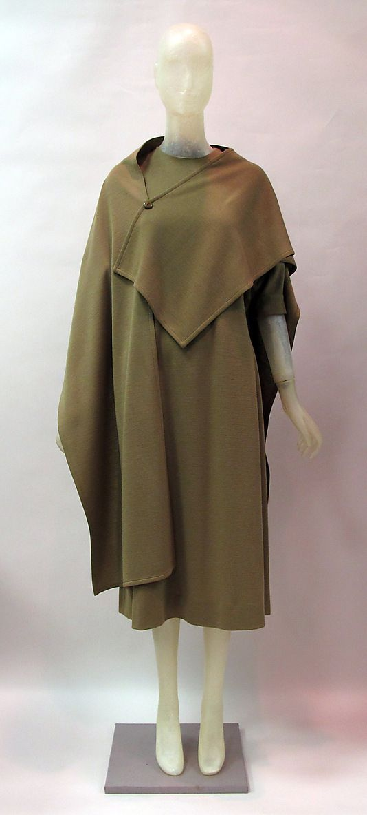 Wool Coat, Madame Gres