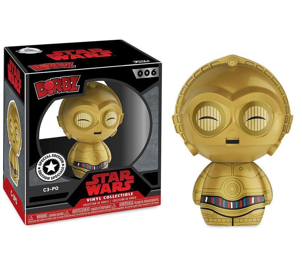 Disney Star Wars Funko Dorbz C3PO Figure Number 006