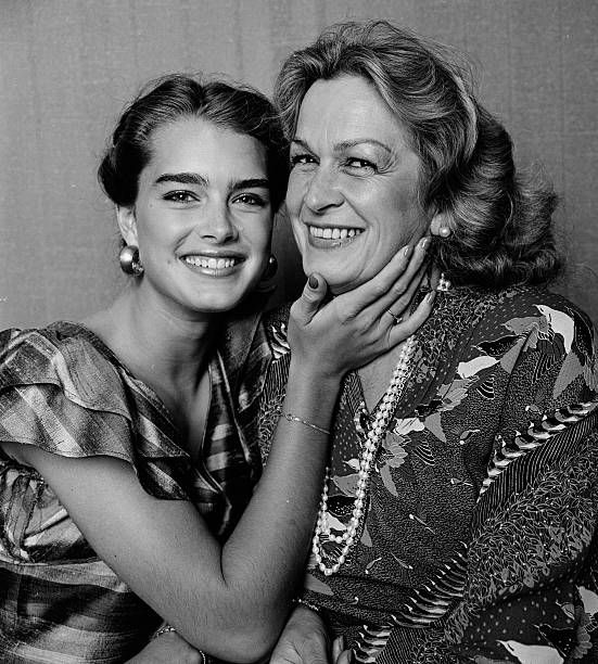 Pin By Her New Tribe On Abode: Brooke Shields And Her Mother And Manager Teri Shields