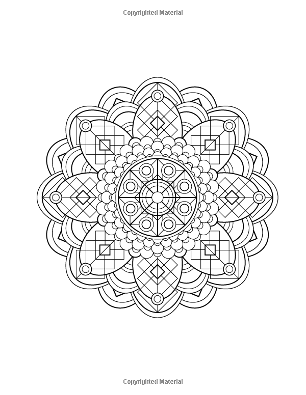 Mandala Design Coloring Book Volume 1 Jenean Morrison