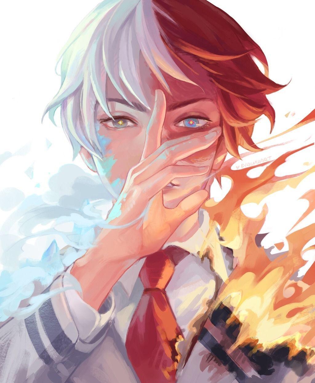 Shoto Todoroki Is The Tetartagonist Of My Hero Academia He Is A Student In Class 1 A Who Was Accepted Into My Hero Academia Shouto My Hero Academia Manga Hero