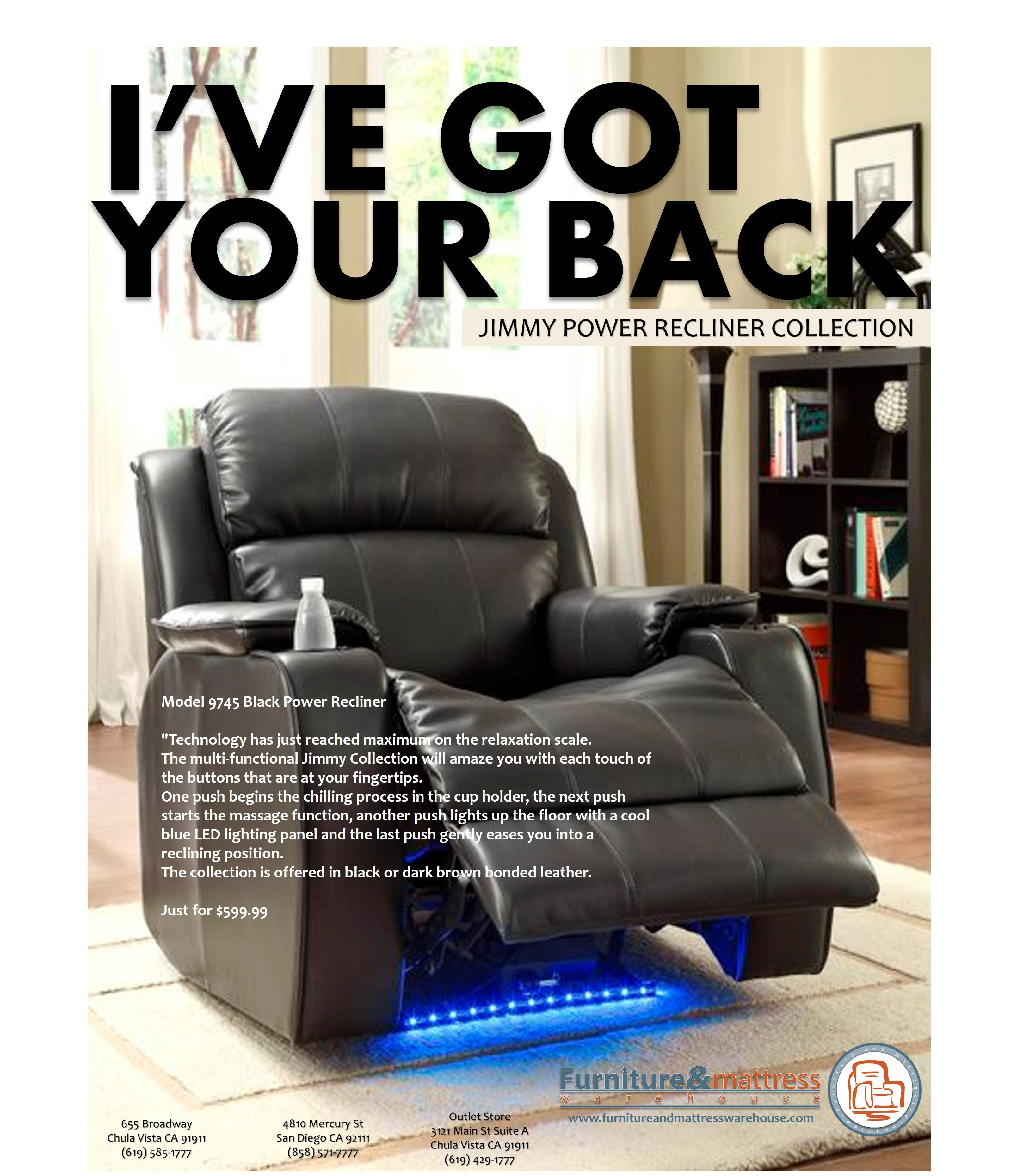 i ve got your back jimmy power recliner collection just 599 99 www