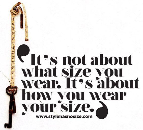 Positive plus size quotes