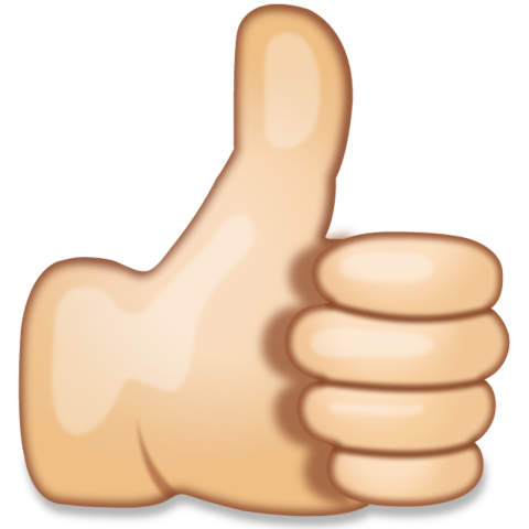 Thumbs Up Hand Sign Emoji Thumbs Up Smiley Hand Emoji Congratulations Images