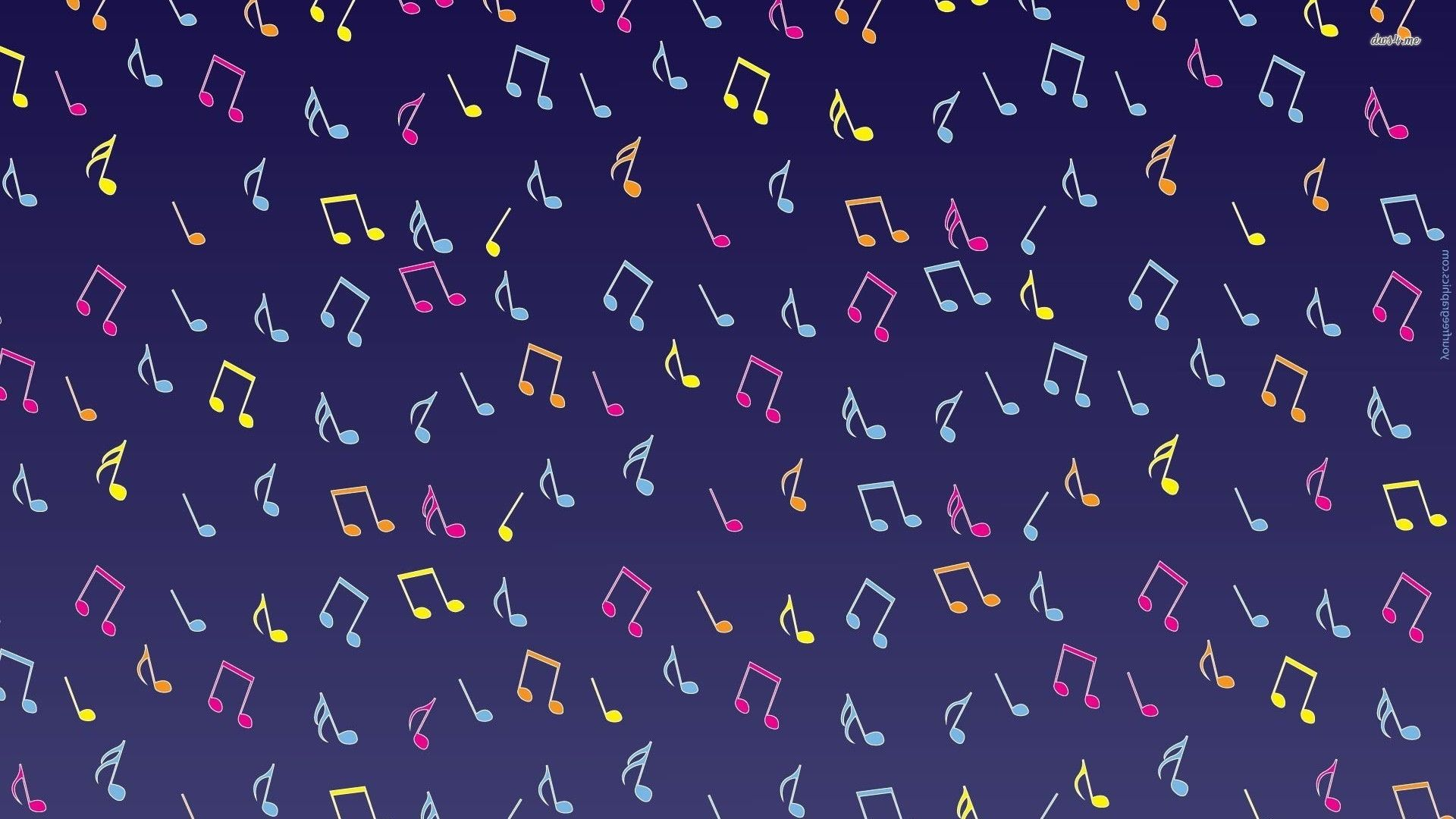 Pink Musical Notes HD Wallpaper on MobDecor   Pink music