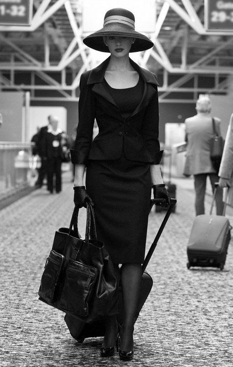 Travel in style. Fashion photography