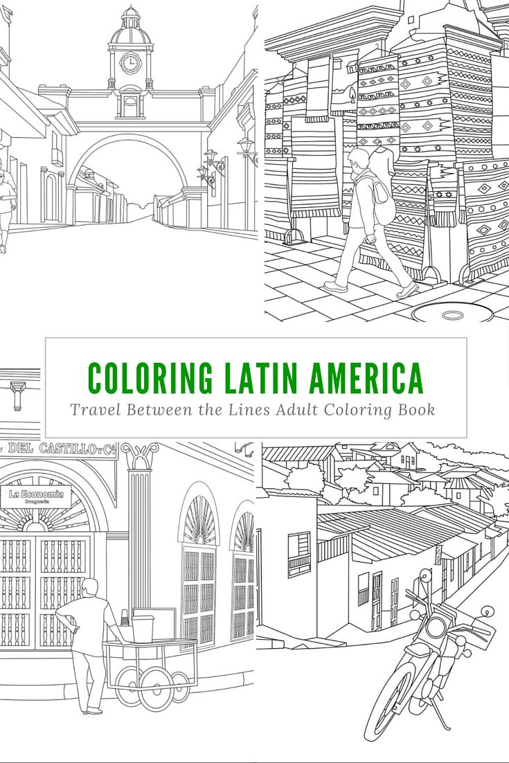 This Adult Coloring Book Features 47 Beautifully Detailed Cityscapes And Scenes From Across Europe Asia