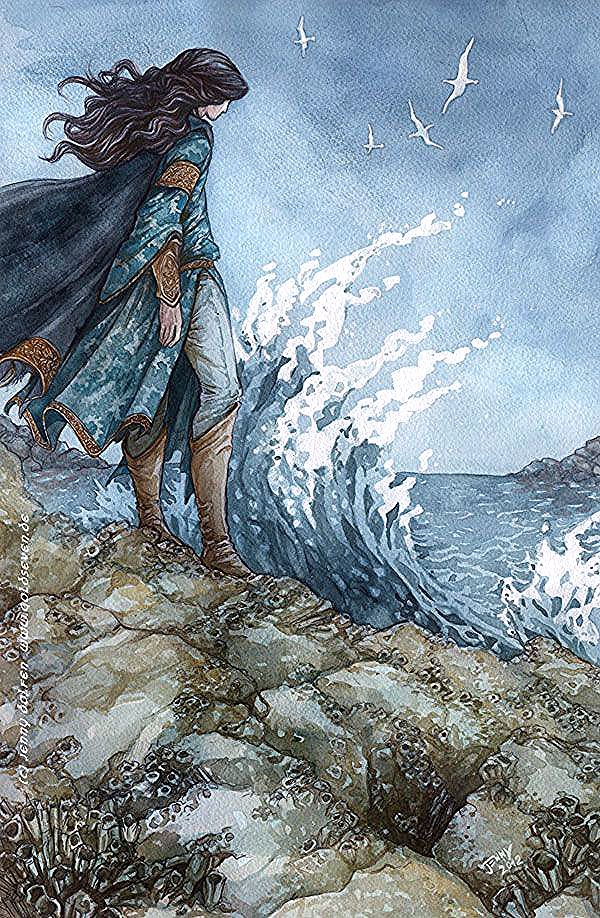 They called her Murgen, which means sea born. She was baptized, and when she died, she was called St. Murgen. #mermaid #myth