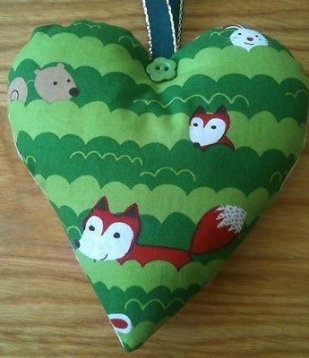 Fox Fabric Lavender Bag / Fox Gift / Woodland Animals / Birthday Gift - Handmade