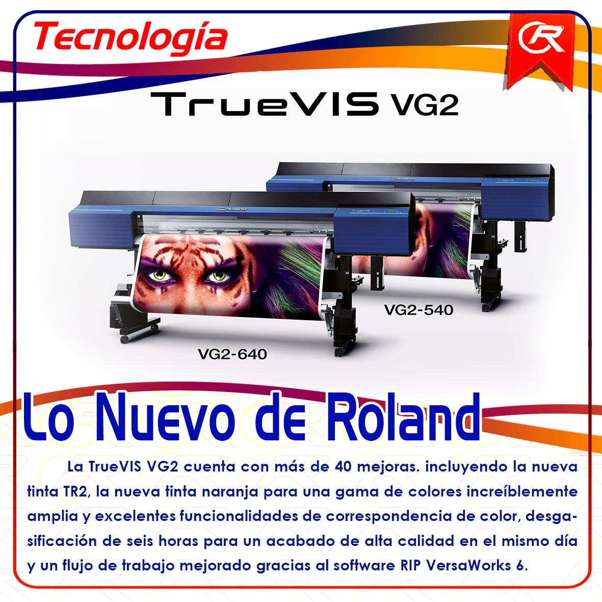 Roland a la vanguardia innovando en el mercado de la impresión digital Mas información en el enlace