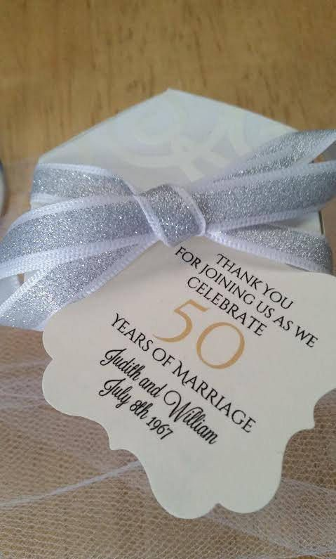 2 10 20 25 30 40 50 55 60 Years Anniversary Favor Tags 50Th Anniversary Wedding Favor Tags Anniversary Favor Tags Thank You Tags #20thanniversarywedding
