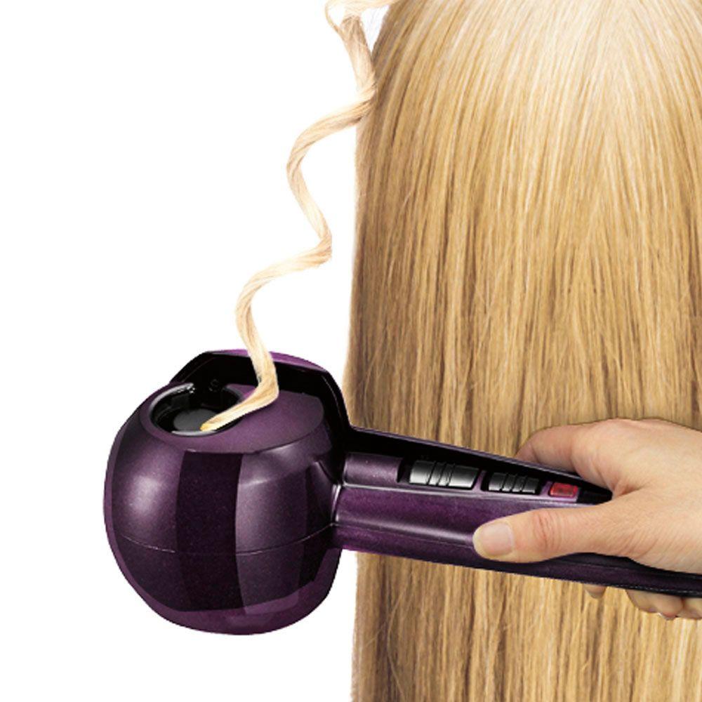 The Time Saving Volumizing Hair Curler - Hammacher Schlemmer