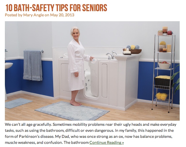 From The Blog 10 Bath Safety Tips For Seniors Bath