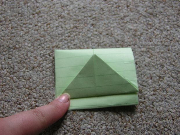 How to fold a letter into it's own envelope