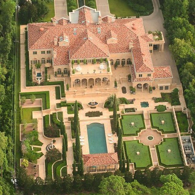 Luxury Mansions Interior: Versailles-Inspired Palace Is Houston's Priciest Home Ever