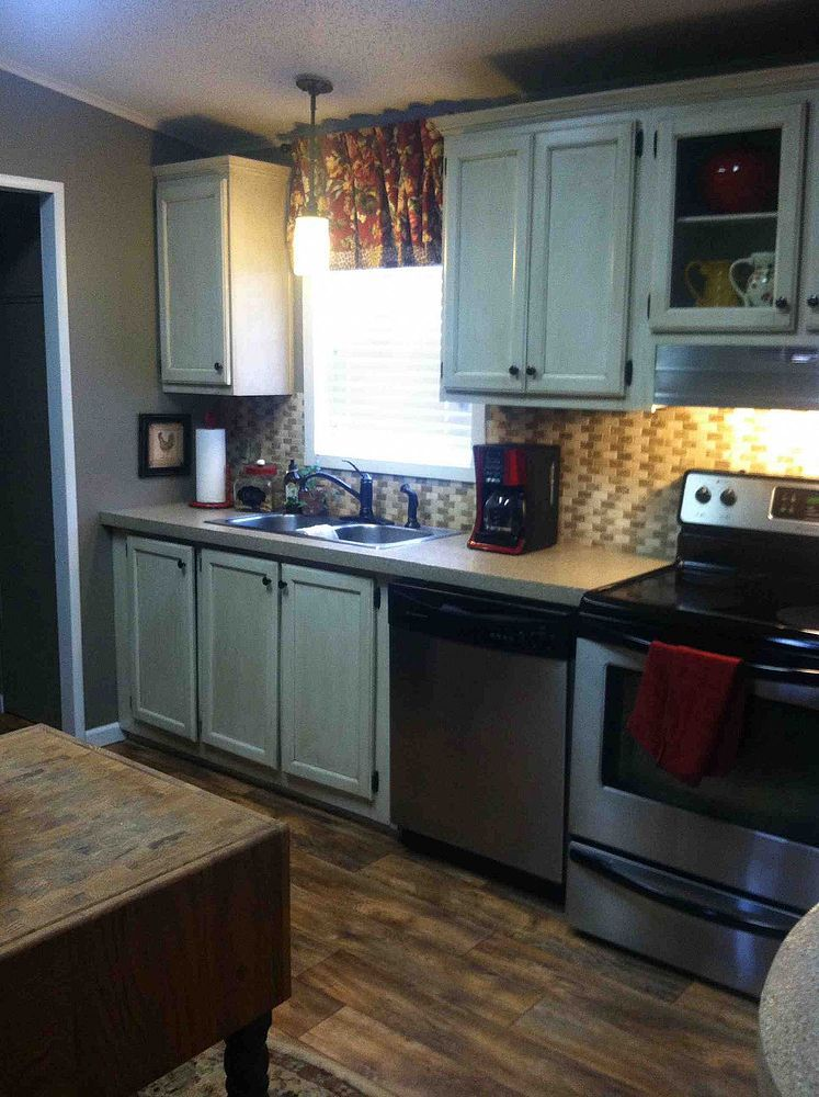 My redo of our Manufactured Home House, Kitchens and