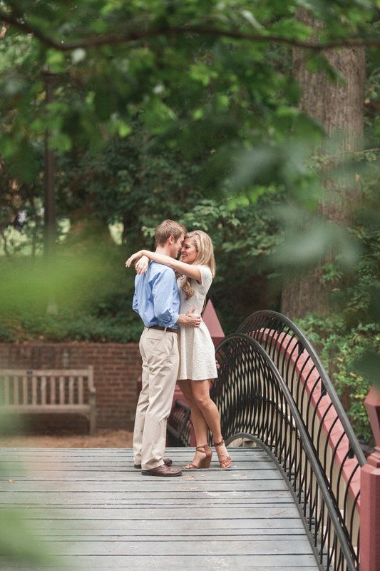 Rosemary and Ryan's Williamsburg Engagement Photo By Michael and Carina Photography
