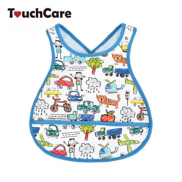 Big Size Newborn Cute Cartoon Cars Baby Bibs