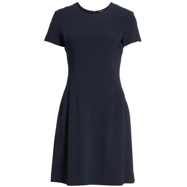 abfec0fd7c8 Women s Theory Corset Admiral Crepe T-Shirt Dress (1