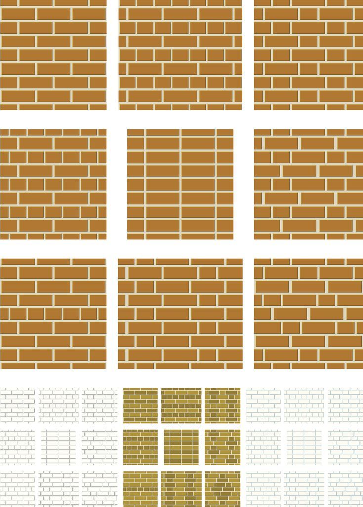 These Are The Most Popular Types Of Brick Bonds Used In Masonry