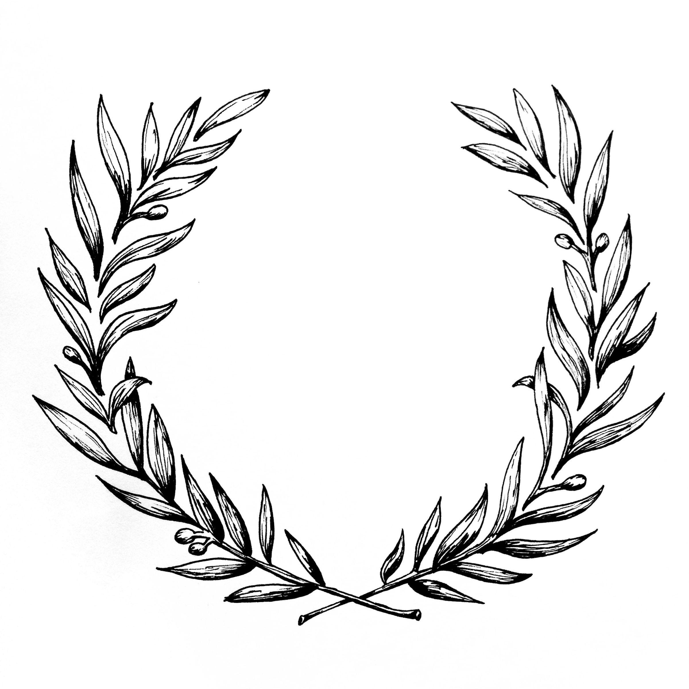Ornate Wreath – Amy Rochelle Press,  #Amy #laurelwreathtattoo #Ornate #Press #Rochelle #Wreath