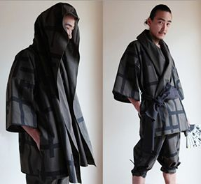 Summercoat Modern Zen Mens Fashion Kimono Kimono Fashion