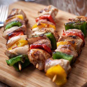 Photo of Baked meat skewers