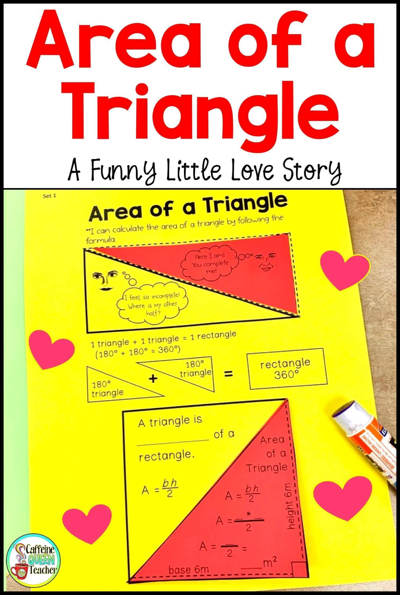 Most Memorable Area Of A Triangle Lesson Yet