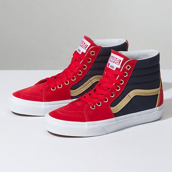Vans X Marvel SK8-Hi | Marvel shoes