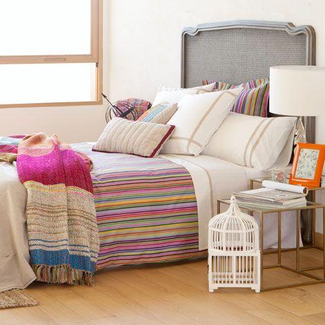 Striped Cotton Bedding | ZARA HOME United States of America