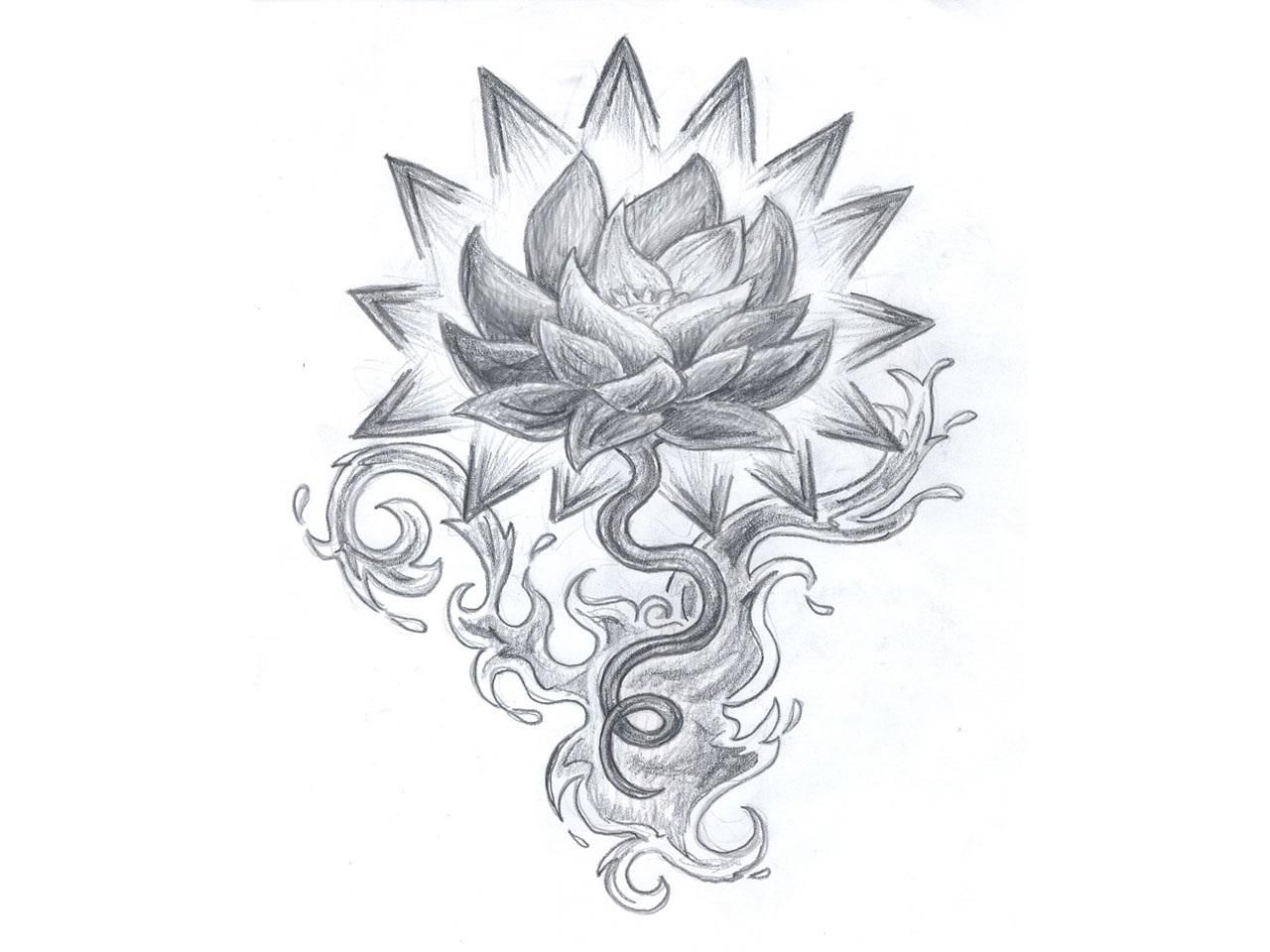 73 lotus flower tattoos designs tattoos pinterest flower lotus flower tattoo drawing izmirmasajfo