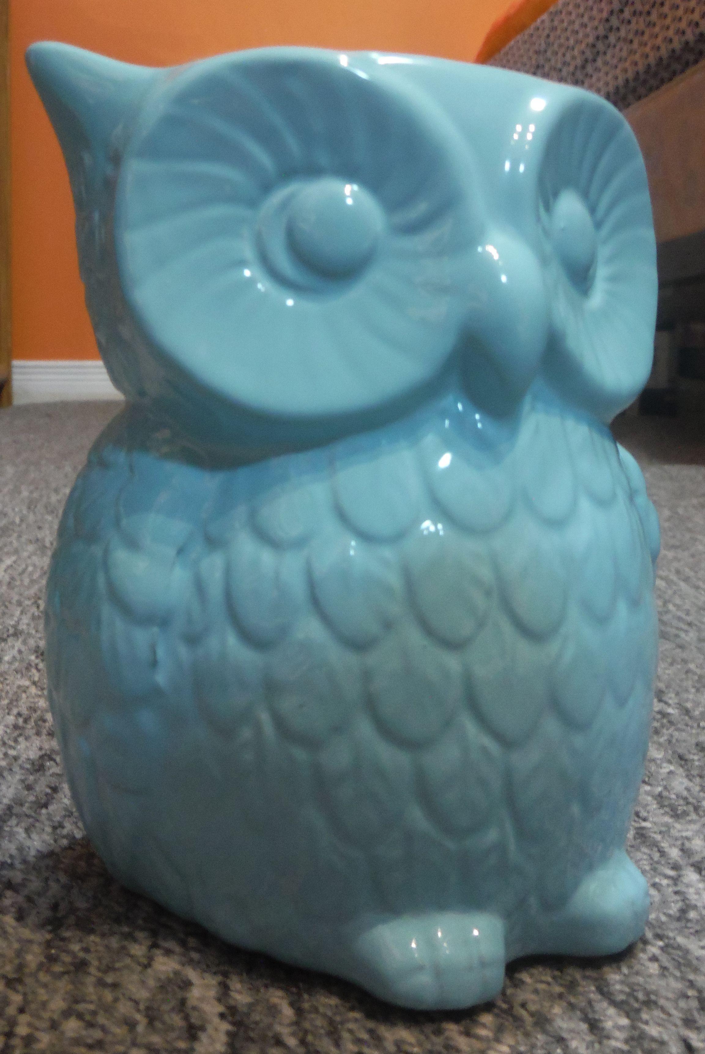 blue owl decor  부엉이  Pinterest