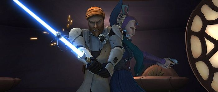 Of course, the vows of the Jedi Order are not taken lightly, and it takes a truly remarkable woman to turn the head and test the heart of Obi-Wan Kenobi. Description from bigfanboy.com. I searched for this on bing.com/images