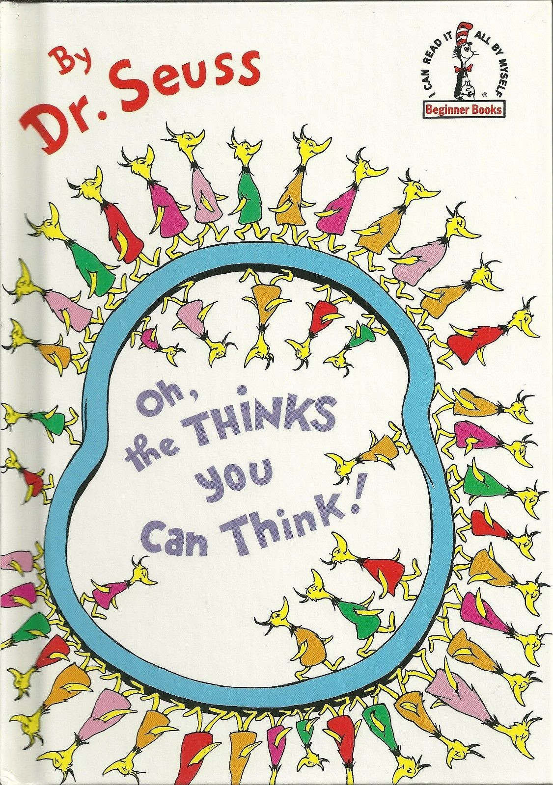 Oh The Thinks You Can Think by Dr Seuss Hardcover Book 0394831292 | eBay