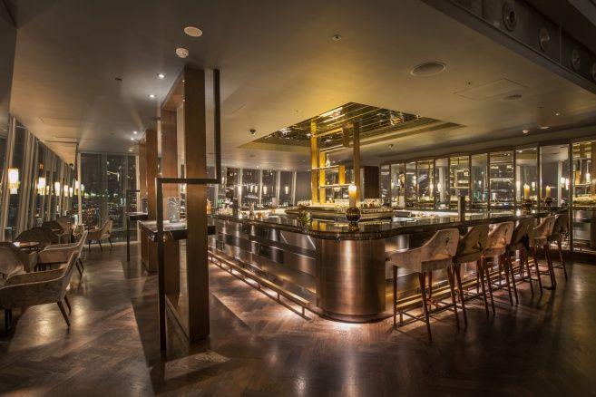 Richard Southall   Architectural Photographer: Aqua Bar And Restaurant    The Shard, London