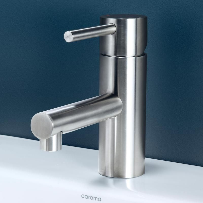 $301 @ Bunnings Caroma WELS 6 Star 4.5L/min Stainless Steel Titan Basin  Mixer