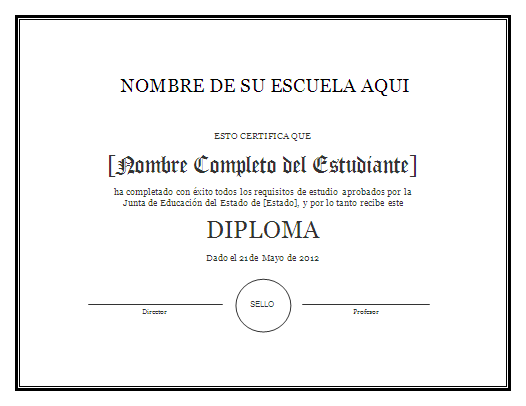 modelo de diploma para imprimir gratis paraimprimirgratis