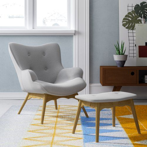 Super Blick Ducon Lounge Chair And Footstool Milja Reading Spot Gmtry Best Dining Table And Chair Ideas Images Gmtryco