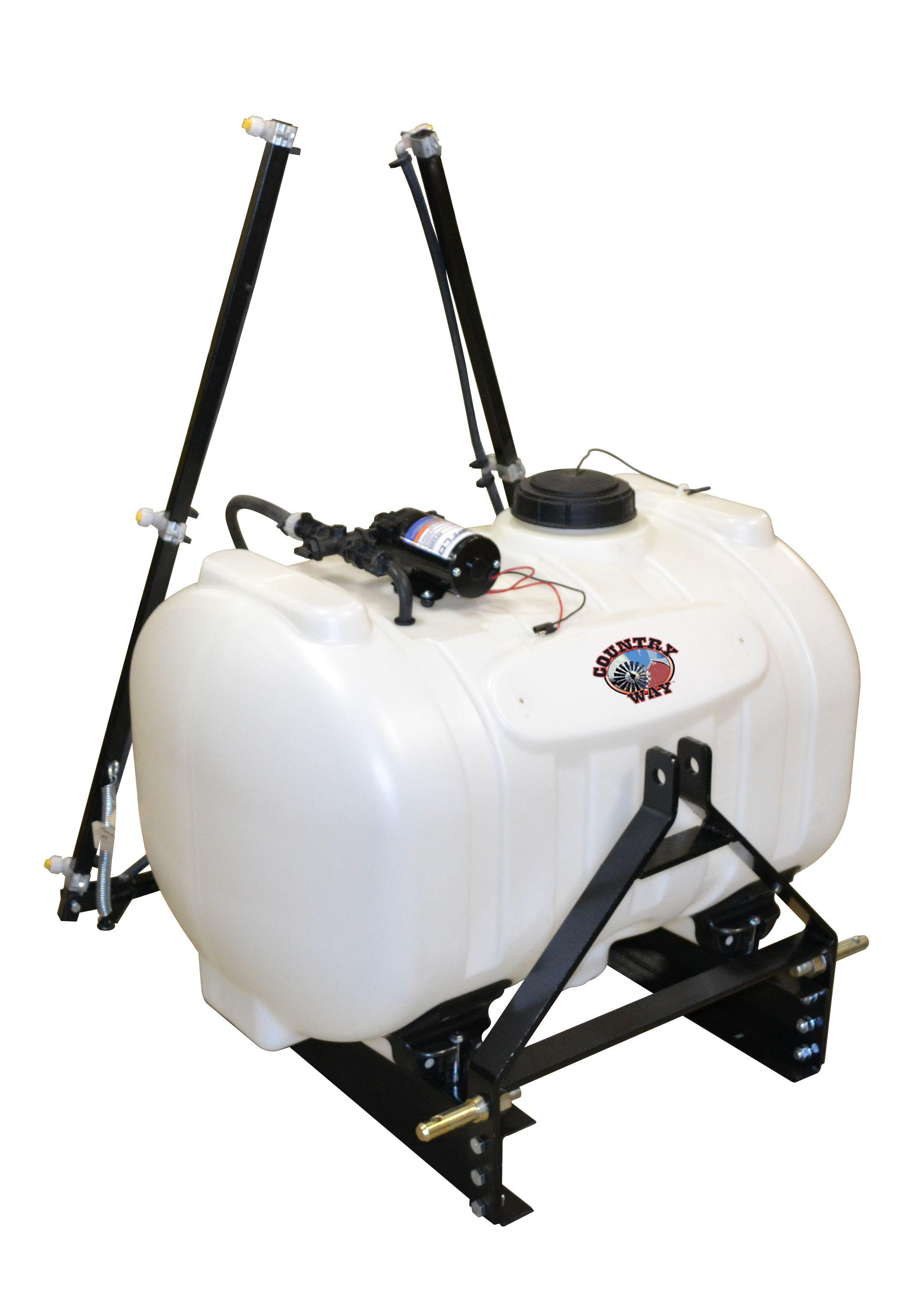 Country Way 60 Gallon 2 2 Gpm 3 Pt Sprayer S3o I1 060a Rk Gpm Sprayers Gallon