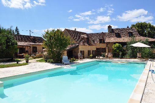 Location Gîte  - location saisonniere avec piscine privee