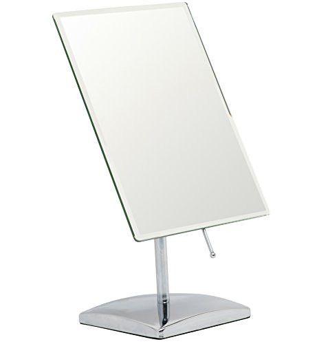 Mirrorvana Rectangular Glass Surface 9 8 Inch X 7 Inch Non Magnifying Vanity Mirror Mirror Makeup Mirror Vanity Mirror