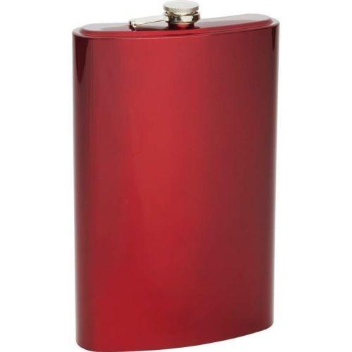 Large 64 oz FLASK Stainless Steel Party Screw Cap Liquor Jumbo 1//2 Gallon Size